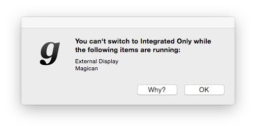 MacBook Proで「独立GPU」と「統合GPU」を簡単に切り替える方法!【gfxCardStatus】