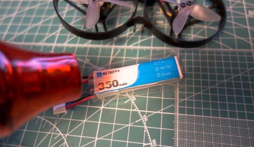 【Tiny Whoop】2Sバッテリーのメンテナンス!よく破れるバッテリーのヒートシュリンクチューブを張り替えてみた。