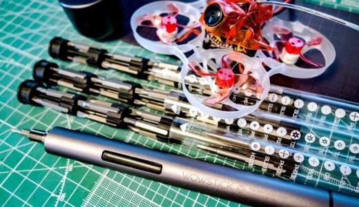 【Wowstick】ドローン作業に最適!ペン型精密電動ドライバーWowstickが便利!