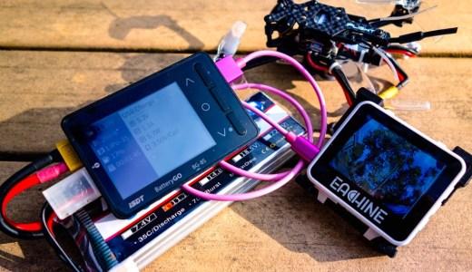【iSDT BG-8S】USB充電機能、これ便利ですね!