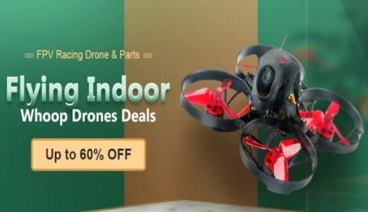 【Banggood Flying Indoorセール】みんな大好き!あのWhoopやToothpick、MegaWhoopが割引セール!
