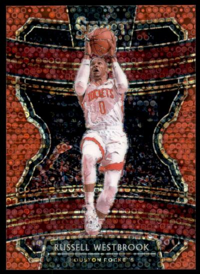 2019-20 Select Prizms Disco Red #61 Russell Westbrook /49