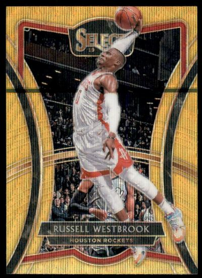 2019-20 Select Prizms Gold Wave #197 Russell Westbrook