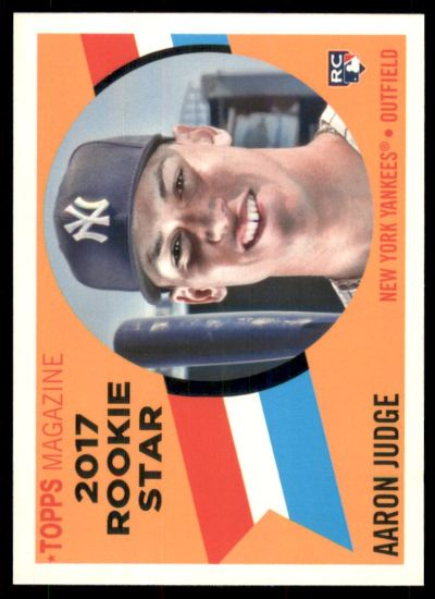 2017 Topps Archives '60 Rookie Stars #RS9 Aaron Judge RC