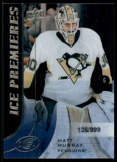 2015-16 Upper Deck Ice #170 Matt Murray RC /999