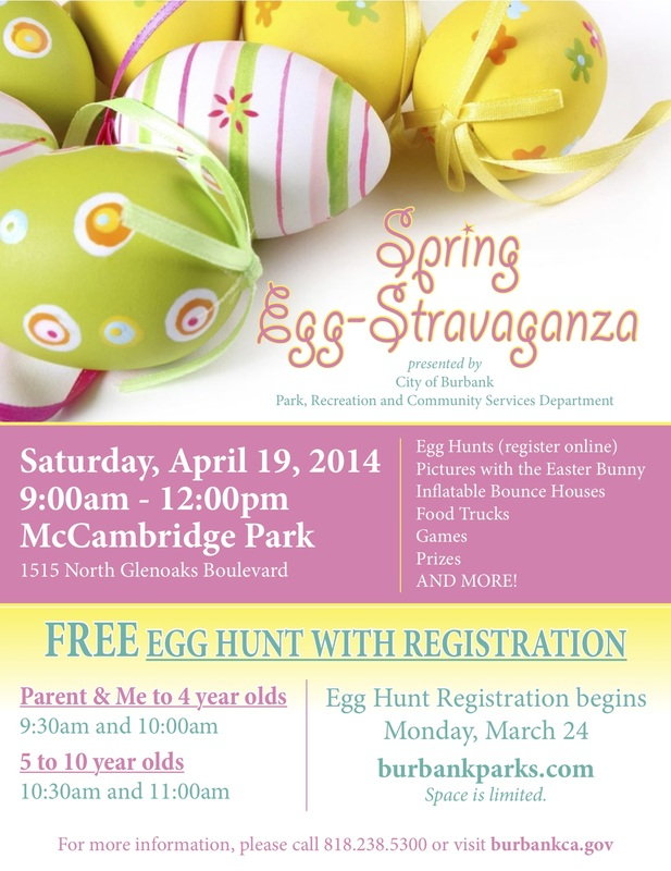 Easter Fun For You The Kids In And Around Burbank Burbank Mom
