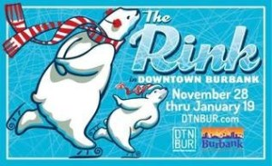 Day 1 Gievaway…A 4 Pack Of Passes To Skate At The Rink In Downtown Burbank This Season!