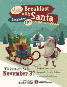 Have Breakfast With Santa Saturday, December 13th!