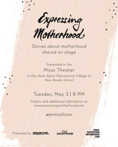 Enter To Win Two Tickets To See Expressing Motherhood…Presented By Mom.me and Club MomMe!