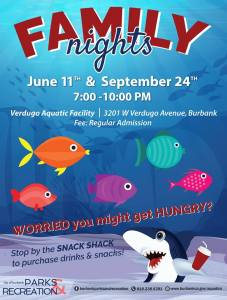 Verdugo Pool Family Night @ Verdugo Aquatic Center | Burbank | California | United States