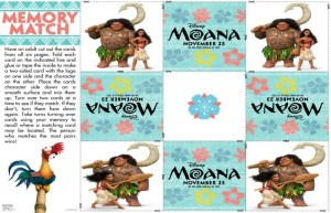 Downloadable Moana Activity Sheets For Your Family!