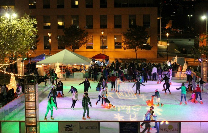 The Rink In Downtown Burbank Opens December 15th And We're Giving Away Tickets!