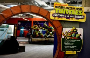 Cowabunga! The Teenage Mutant Ninja Turtles Have Taken Over Discovery Cube LA!