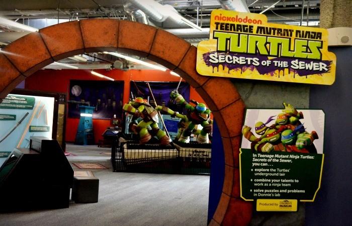 Cowabunga! The Teenage Mutant Ninja Turtles Have Taken Over Discovery Cube LA!