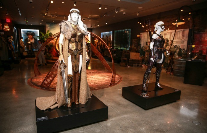 Wonder Woman Powers Up The Warner Brothers Studio Tour In