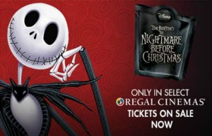 The Nightmare Before Christmas Returns To Select Regal Theaters This Halloween!