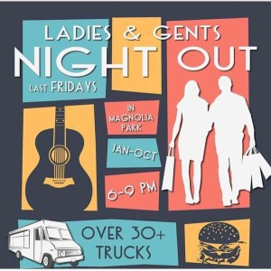 Ladies & Gents Night Out - May @ Magnolia Park Burbank