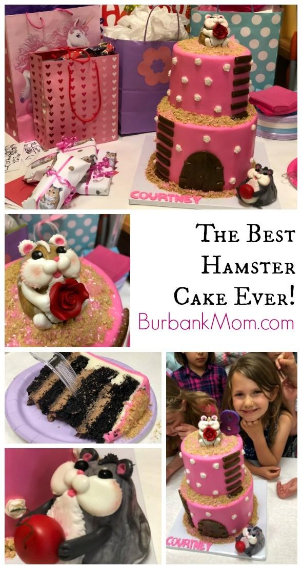 Two Little Monkeys Bakery Delivered The Ultimate Hamster Cake In