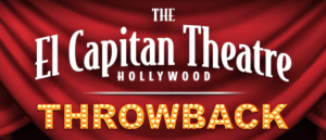 The El Capitan Theatre Hollywood Is Hosting A Month Of Throwback Disney Classics!