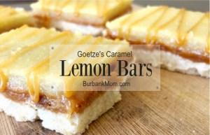 Goetzes Caramel Lemon Bars