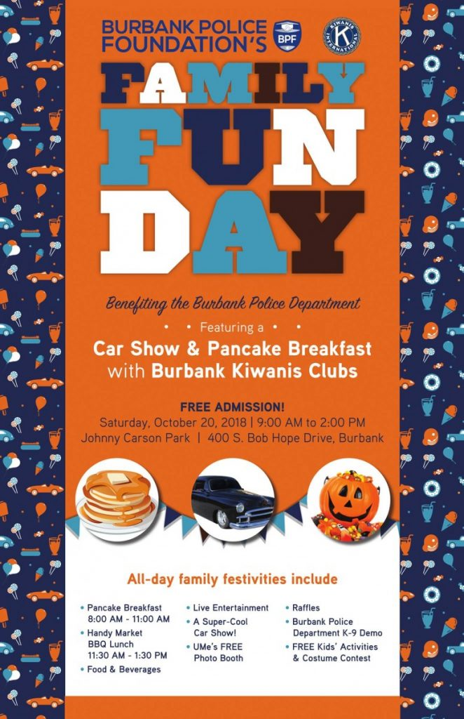 Burbank Police Foundation Family Fun Day