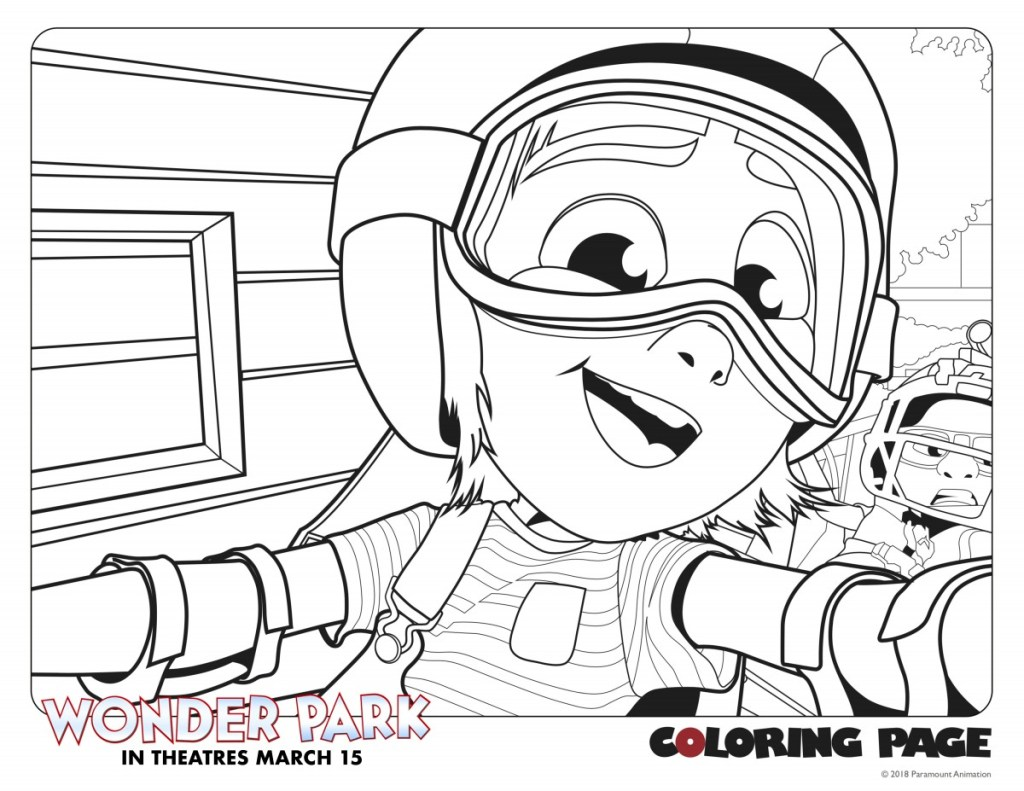 Downloadable Coloring Pages For Wonder Park In Theaters March 15th
