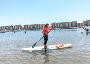 Stand Up Paddle Boarding in Marina Del Rey California