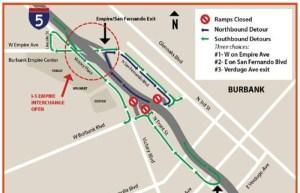Burbank Empire Interchange