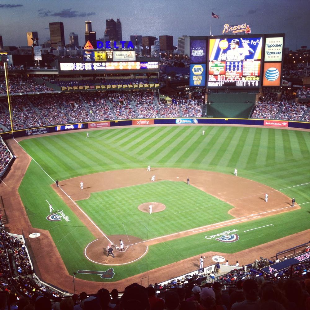 Atlanta Braves Turner Field Burbank Sport Nets