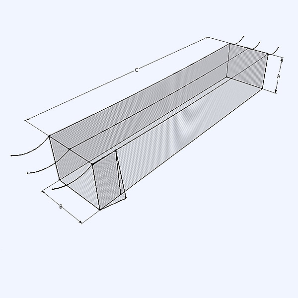 Indoor Batting Cage Diagram