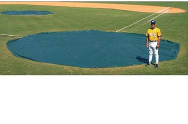 Wind Weighted Homeplate Cover