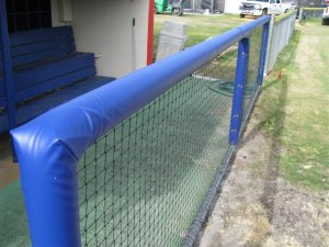 Padding and Dugout Rails