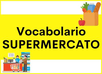 Vocabolario lessico spagnolo supermercato