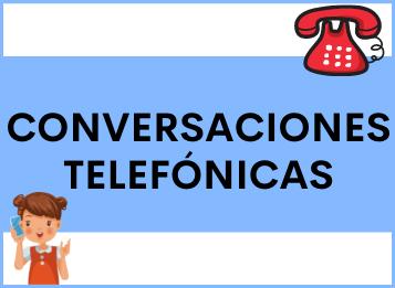 Hablar por TELÉFONO en español