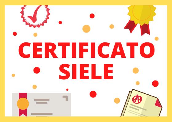 Certificato SIELE spagnolo