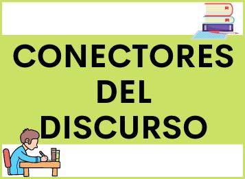 Conectores del discurso español