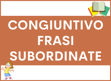Congiuntivo frasi subordinate in spagnolo