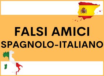Falsi amici spagnolo italiano