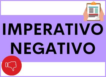 Imperativo negativo in spagnolo
