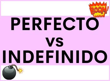 Contraste entre Pretérito PERFECTO COMPUESTO y Pretérito INDEFINIDO