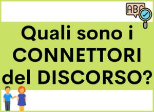 I Connettori del Discorso in spagnolo