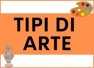Tipi di ARTE in spagnolo