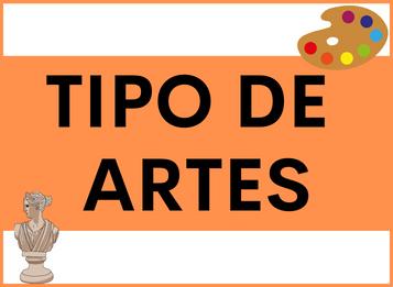 Tipo de Artes en español
