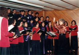 Concierto en la Casa Honorio Delgado, de la UPCH (1996 ó 1997).