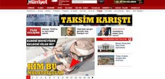 Ulusal Kanal ve Halk TV gibi Hürriyet gazetesi ve internet sitesi okuyucularını tahrik etmek için elinden geleni yaptı.