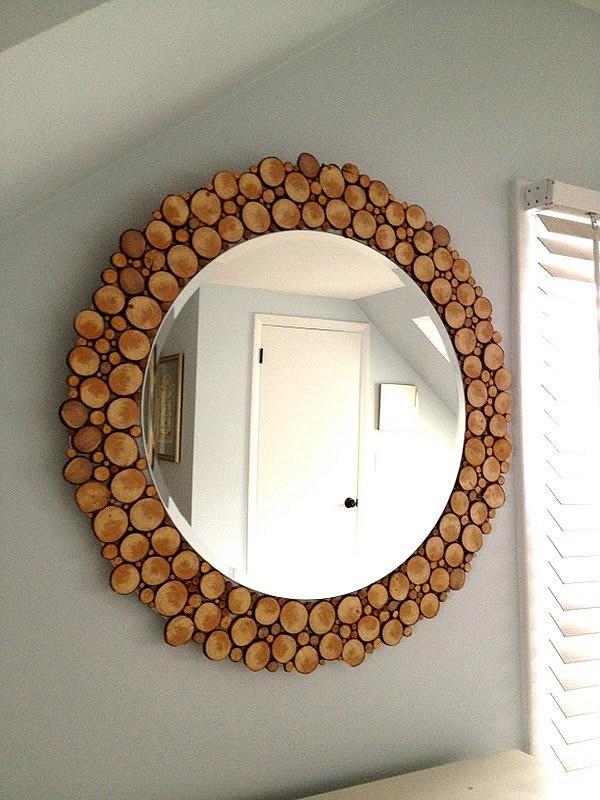 Dekorere speilet: 7 mesterklasser