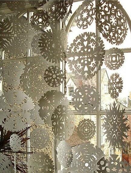 De vackraste pappersnowflakesna: 40 mallar av olika komplexitet