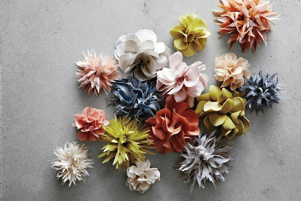 How to make a flower: 20 ways