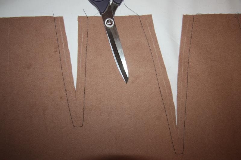Как сшить юбку из двухслойной ткани по мотивам Max Mara