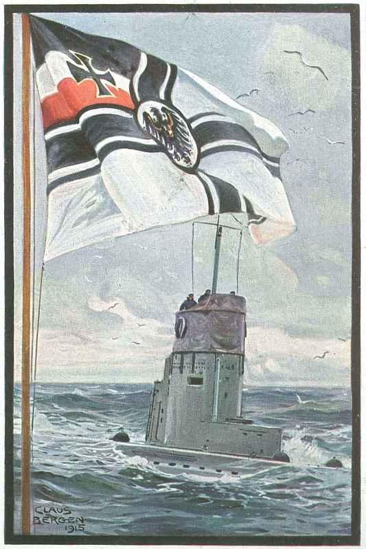 Unter Kriegsflagge
